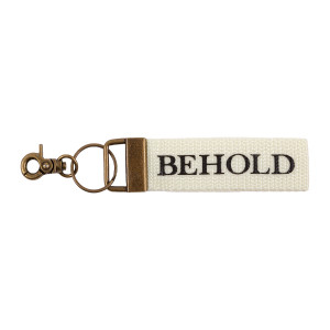 Behold Woven Keychain