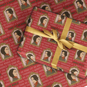 Behold Wrapping Paper