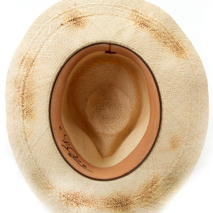 Cream Signed Hat