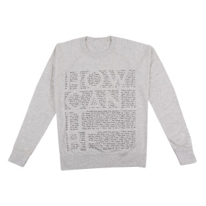 How Can It Be Lyric Crewneck