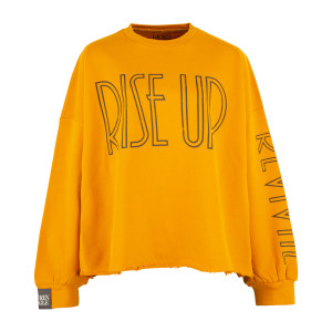 Rise up Crop Sweatshirt
