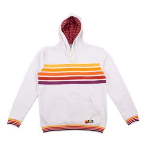 Color Bar Hoodie