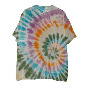 Rise Up Tie Dye Embroidered T-Shirt