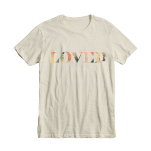 Loved Unisex T-shirt - Natural