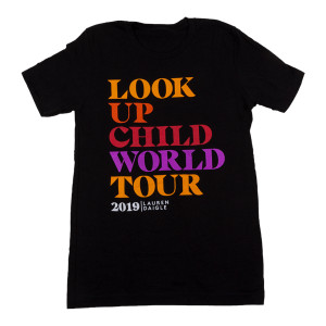 Black LUC World Tour T-shirt