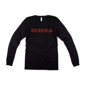 Behold Tour Black Long Sleeve T-shirt