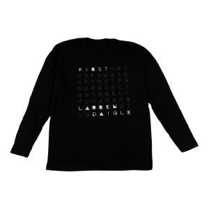 First Black Long Sleeve T-shirt
