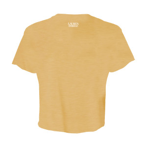 You Say Gold Crop Top