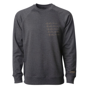 Hold On To Me Repeat Crewneck Fleece