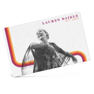 Lauren Daigle eGift Card