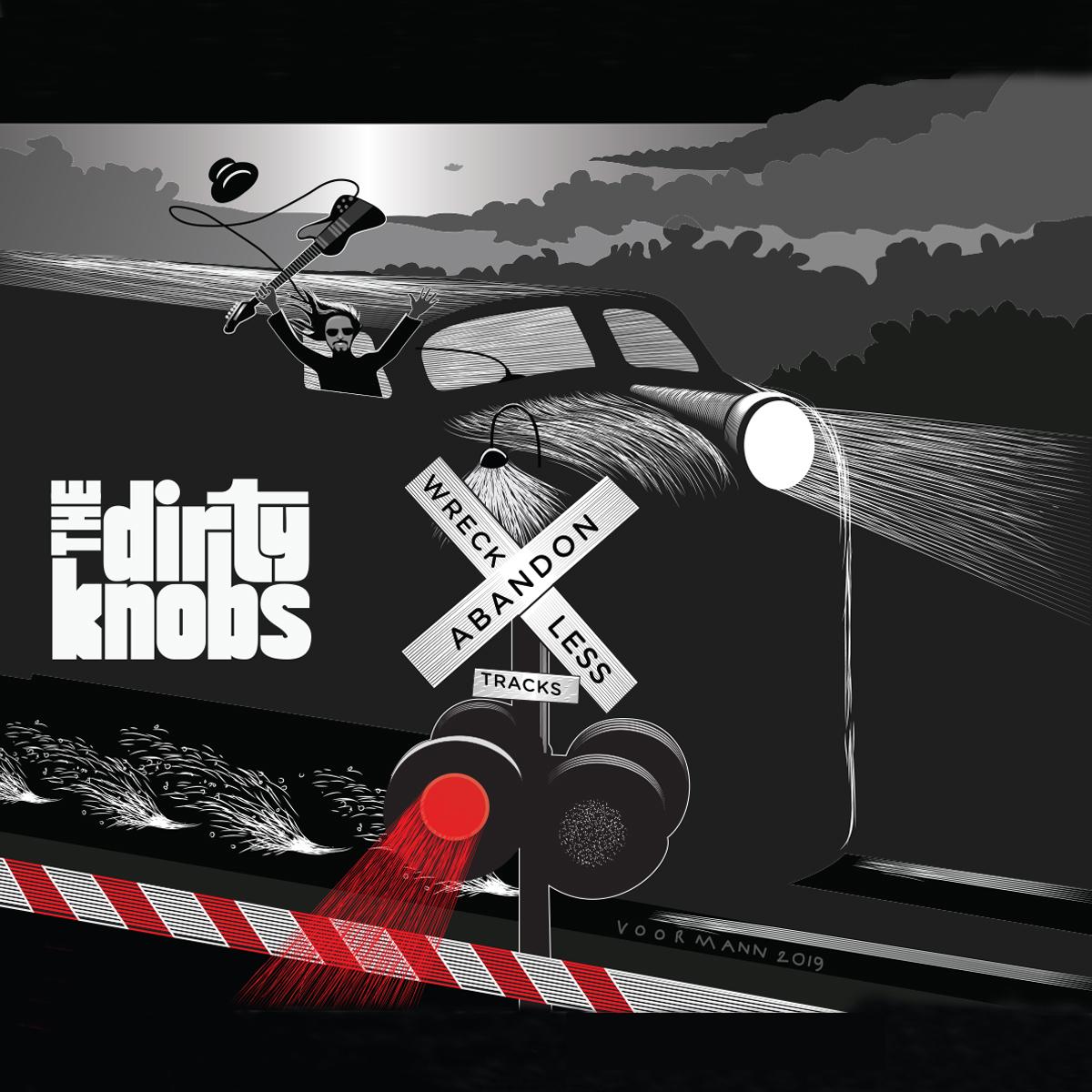 "The Dirty Knobs - Wreckless Abandon - Vinyl Album Standard 12"""