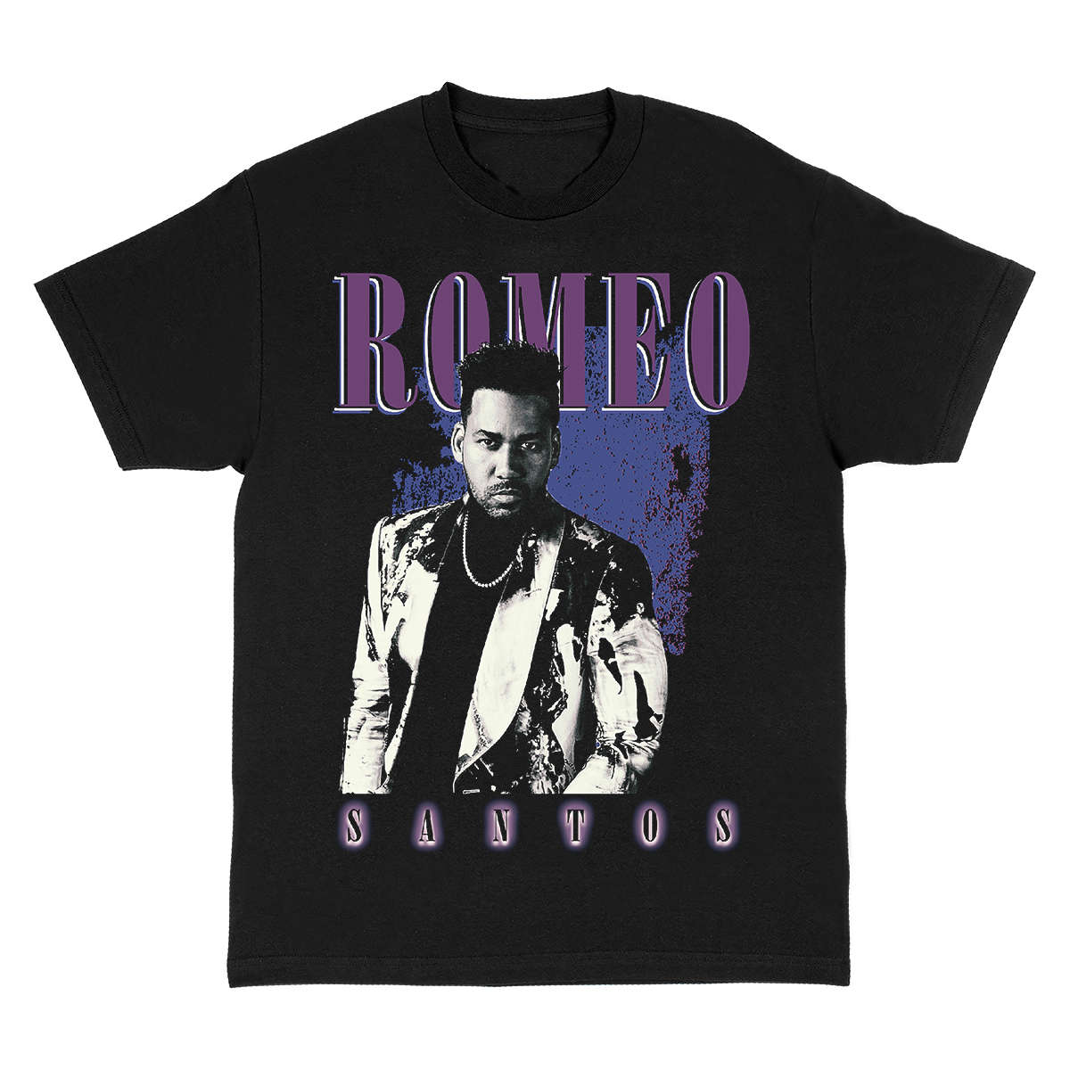 Romeo Santos Throwback Photo T-Shirt