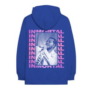 Inmortal Photo Blue Hoodie