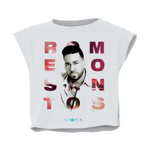 Romeo Santos Cropped Tee