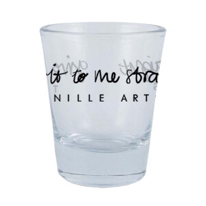 """""""Give It to Me Straight"""" Shot Glass"""