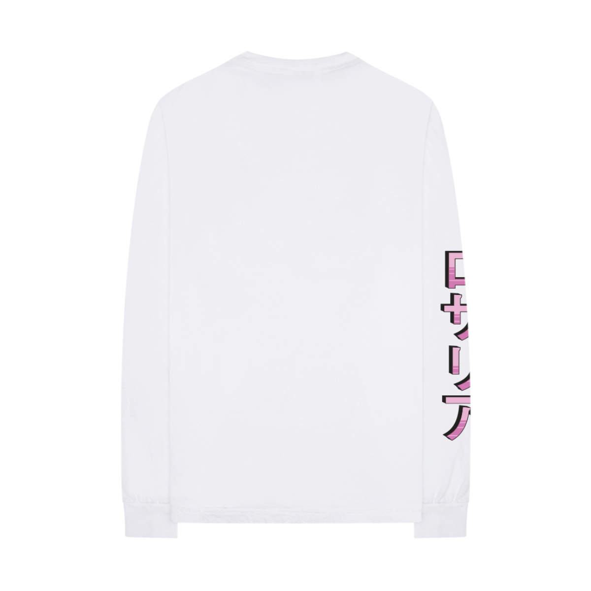 Character White Long Sleeve Tee