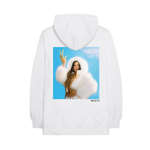 White Photo Hoodie