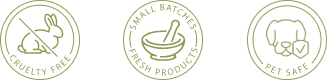 Cruelty Free | Small Batches Fresh Products | Pet Safe