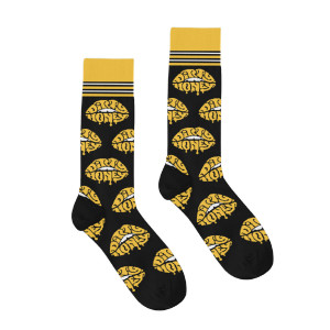 LIPS COTTON CREW SOCKS