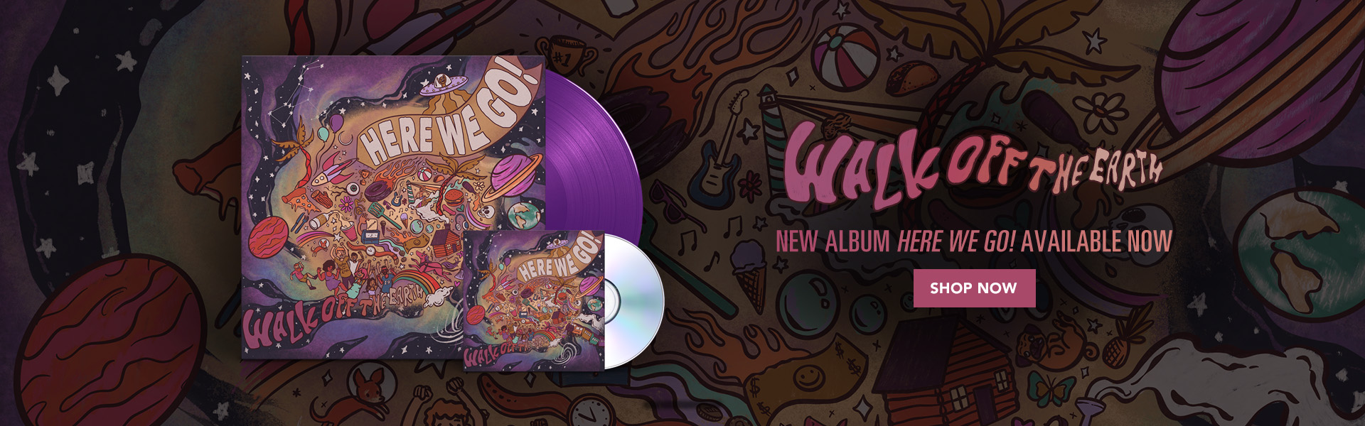 "Walk Off The Earth | New Album ""Here We Go"" Available on October 25 