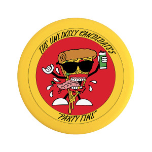 The Unlikely Candidates - Pizza Guy Frisbee