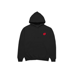 finding it hard to smile hoodie
