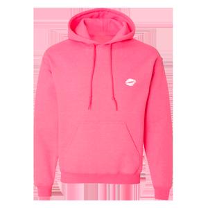 lips pink hoodie