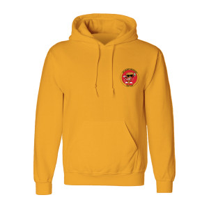 The Unlikely Candidates - Pizza Guy - Gold Hoodie