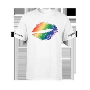 lovelytheband x Ally Coalition White T-Shirt