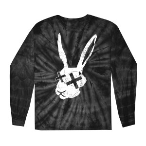 Tie Dye Rabbit Long Sleeve T-Shirt