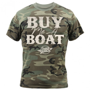 Buy Me a Boat Camo T-Shirt