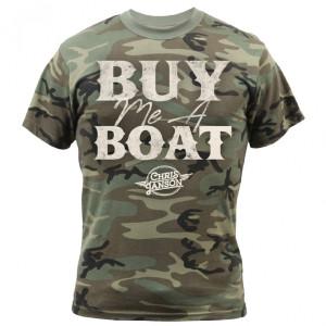 Buy Me a Boat Camo T-Shirt