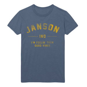 Janson Good Vibes Blue T-shirt