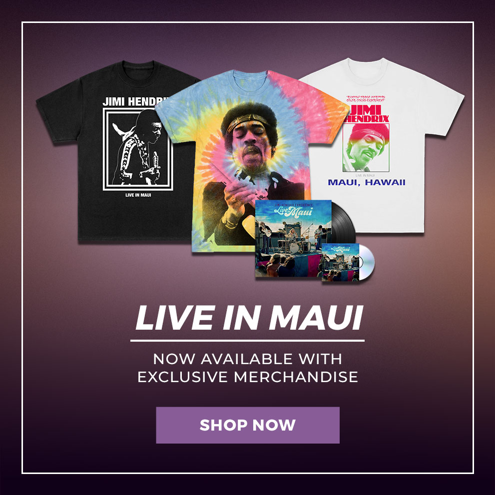 """Live In Maui"" Now Available With Exclusive Merchandise 