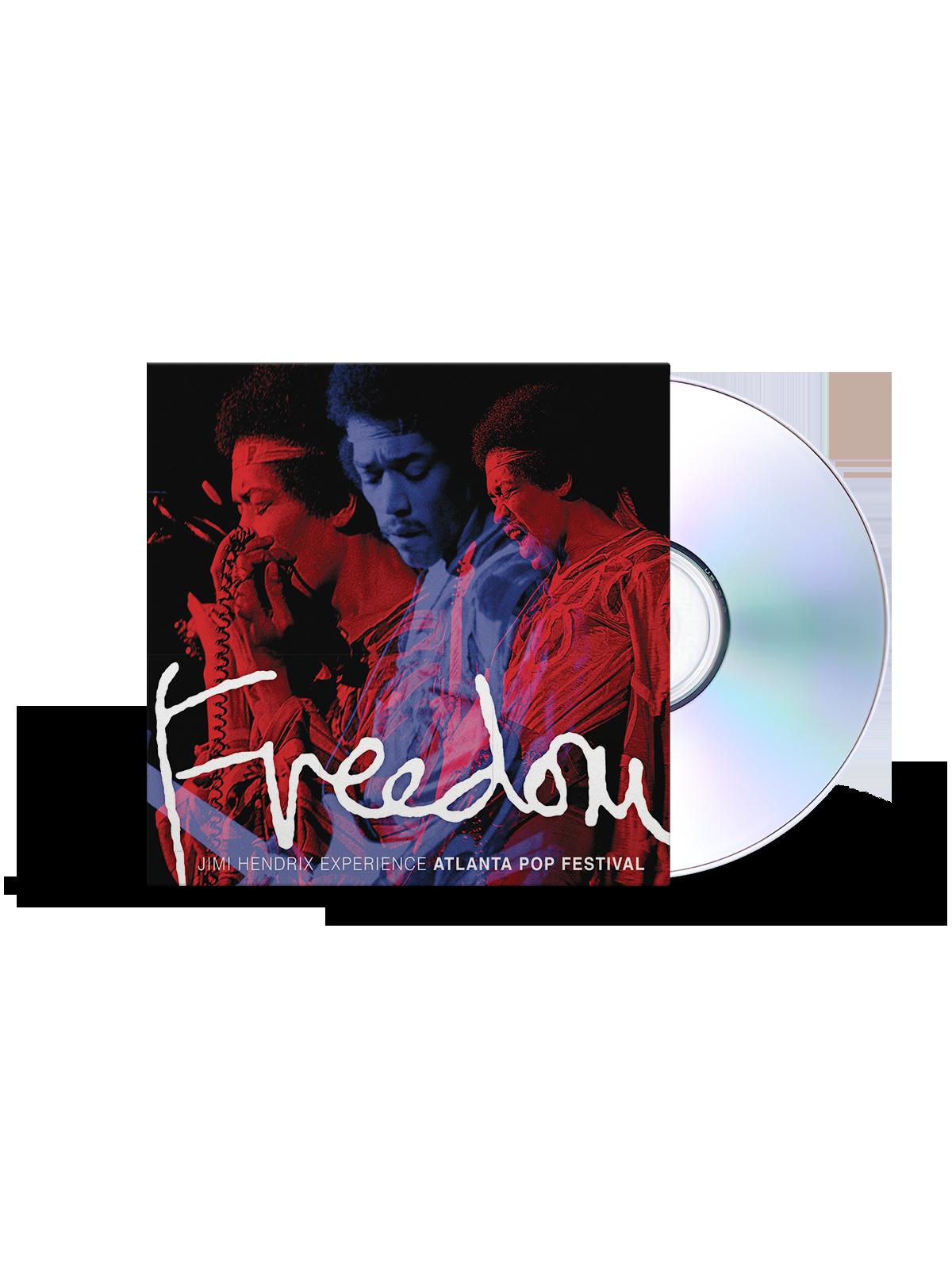 The Jimi Hendrix Experience Freedom: Atlanta Pop Festival CD