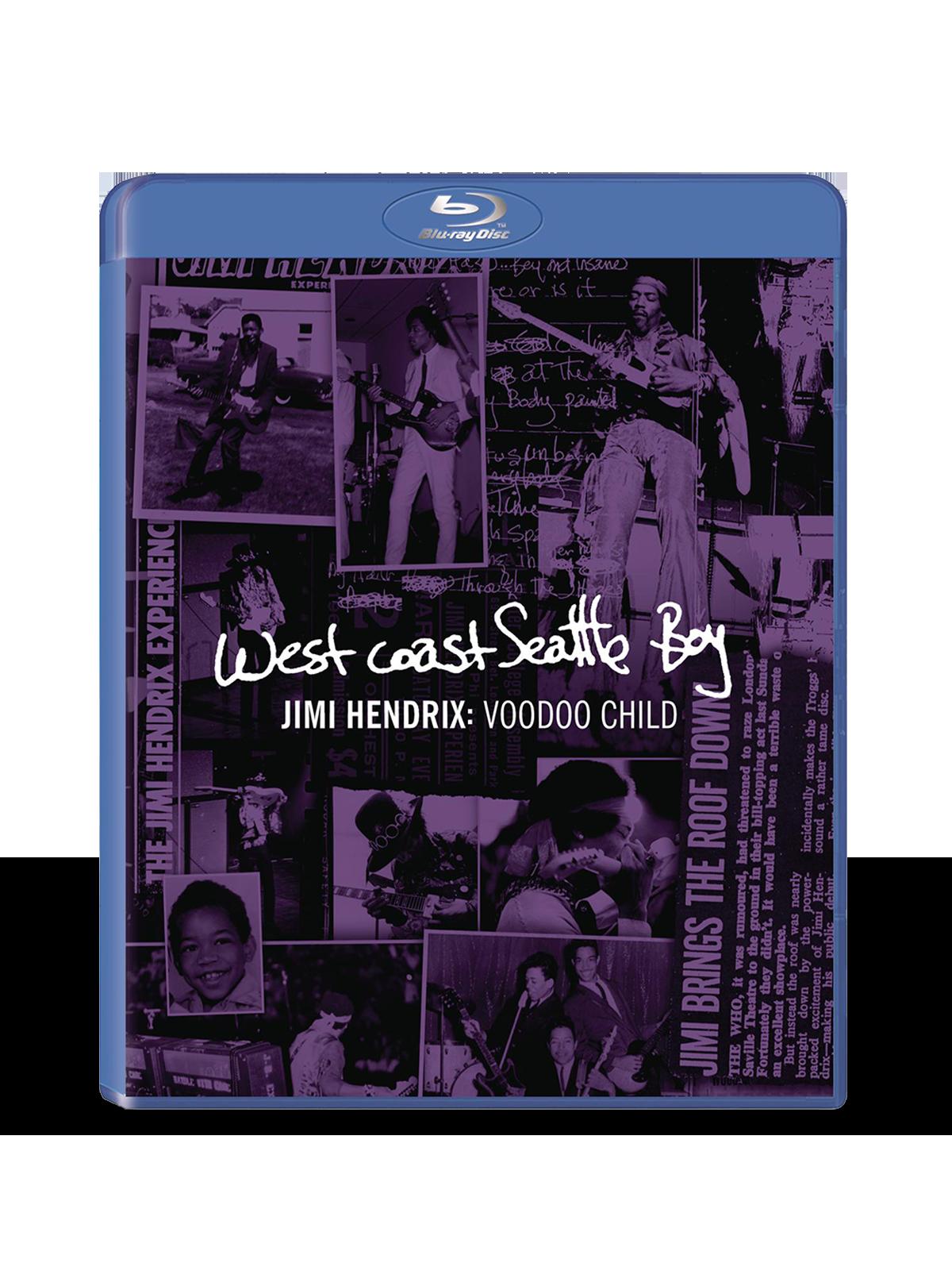Jimi Hendrix: Voodoo Child Blu-Ray DVD