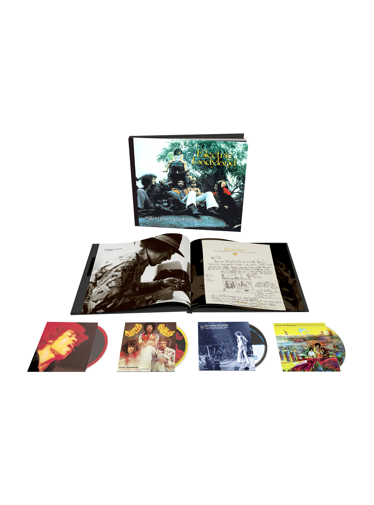 Jimi Hendrix Experience: Electric Ladyland: 50th Anniversary Deluxe Edition CD Box Set