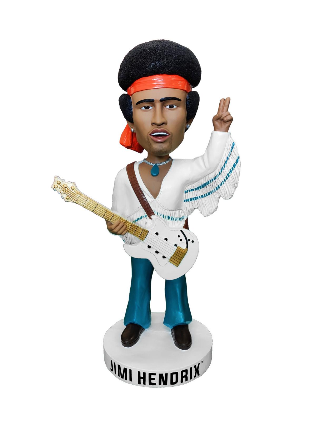 "Limited Edition 36"" Jimi Hendrix Bobblehead"