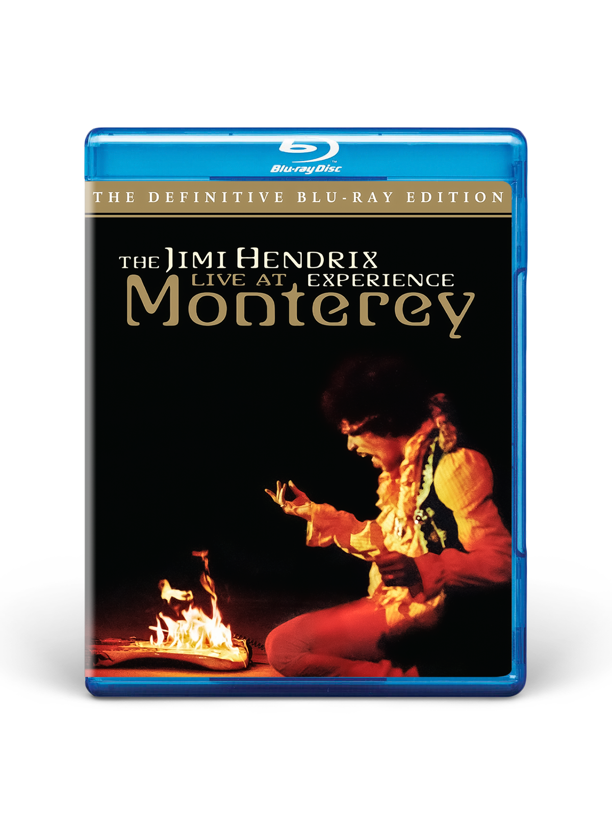 American Landing: Jimi Hendrix Experience Live at Monterey Blu-Ray