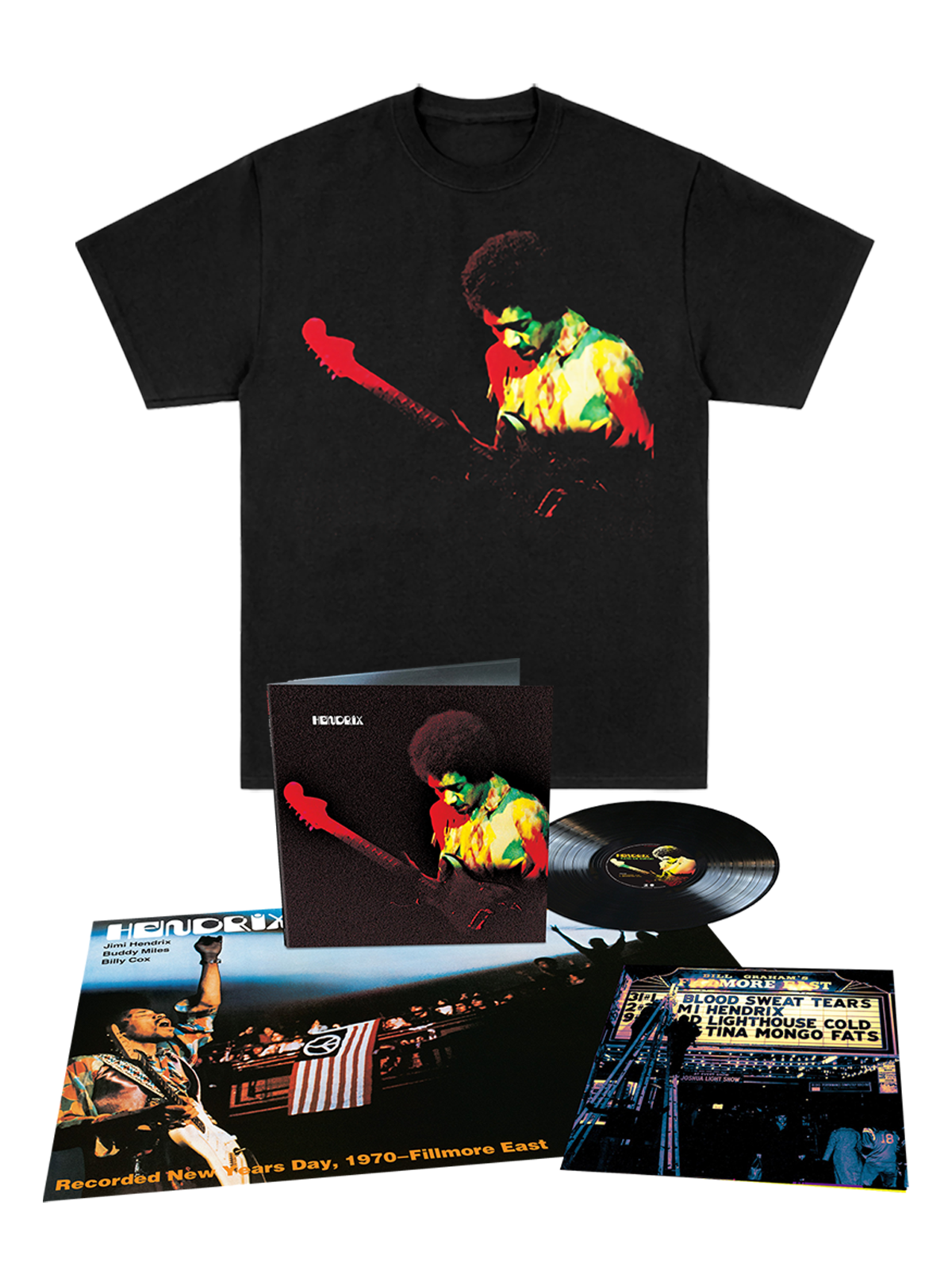 Band of Gypsys T-Shirt + Anniversary Analog LP