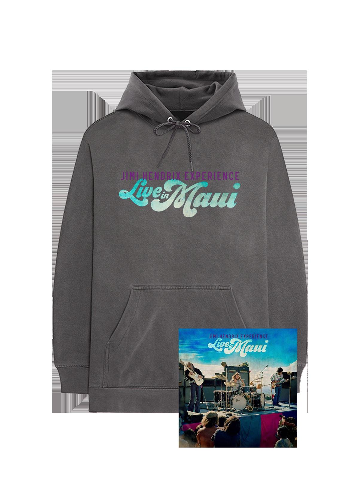 LIVE IN MAUI LOGO HOODIE + ALBUM