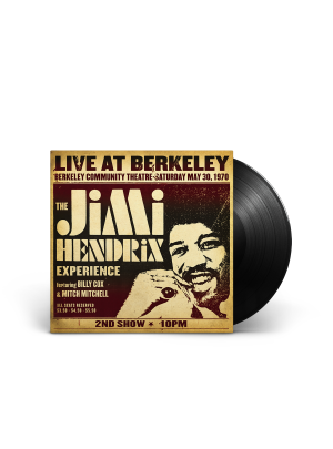 The Jimi Hendrix Experience: Live at Berkeley 2LP