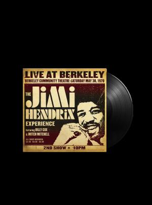 The Jimi Hendrix Experience: Live at Berkeley 2LP