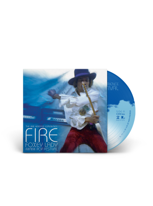 """The Jimi Hendrix Experience: Fire/Foxey Lady 7"""" LP"""