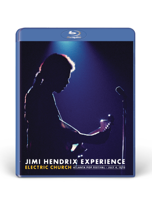 Jimi Hendrix Experience: Electric Church Blu-Ray DVD