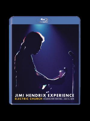 Jimi Hendrix Experience: Electric Church Blu-Ray DVD