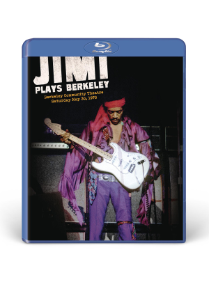 Jimi Plays Berkeley Blu-Ray DVD