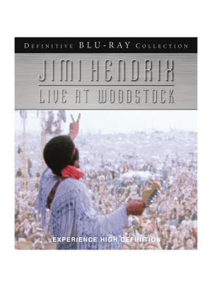 Live At Woodstock Blu-Ray DVD
