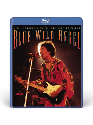 Blue Wild Angel: Jimi Hendrix Live At The Isle Of Wight Blu-Ray DVD