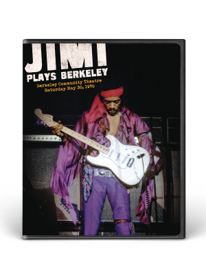 Jimi Plays Berkeley DVD